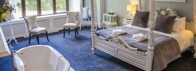 Beautifully restored bedrooms